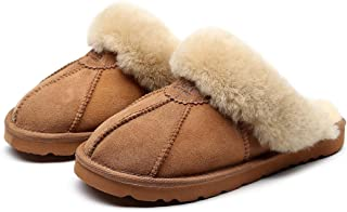 Promotion! 2 Pairs for $50! 3 Pairs for $70! Best Gift Choice UGG Slippers- 100% Australian Sheepskin Unisex Slippers