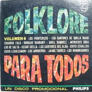 Folklore Para Todas Vol. 6