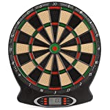 Unibos Children's Electronic Dartboard with LED Digital Score Display and Plastic Tip Darts New