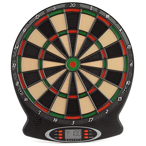Unibos Children's Electronic Dartboard with LED Digital Score Display and...