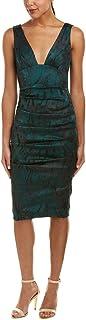 فستان Lurex مطوي للنساء من Nicole Miller