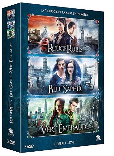 Coffret trilogie des gemmes : rouge rubis ; bleu saphir ; vert émeraude [FR Import]