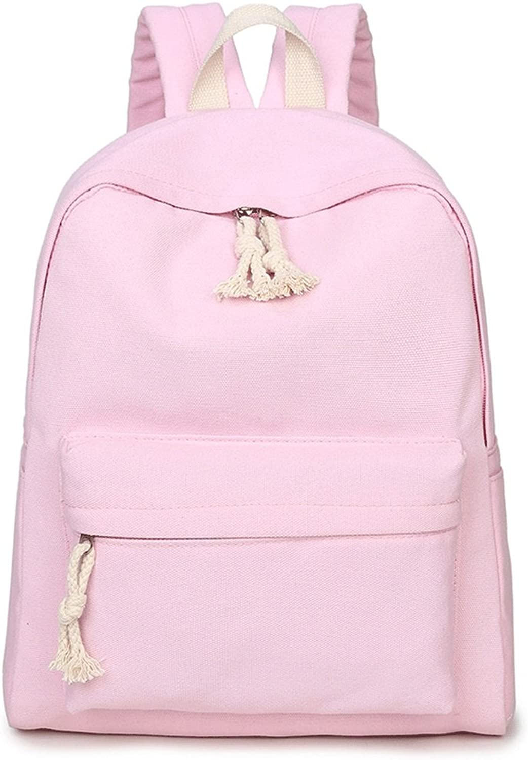 Backpack Fashion Student Bag Large Capacity Campus Simple Daypack Travel Bag