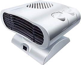 SZHWLKJ Pequeño Ventilador de Calefactor portátil - con termostato Ajustable - protección contra sobrecalentamiento y protección de la Oficina de protección de la Oficina de la Oficina