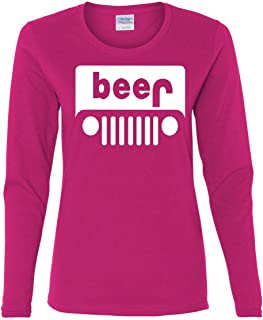 Beer Funny Long Sleeve T-Shirt Parody Beer Drinking