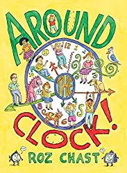 around the clock - telling time book for kids