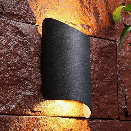 10W 15W IP68 impregneren, LED-wand-verlichting, binnenportaal, LED-wandlamp, energiebesparende tuin-buitenverlichting, natuurlijk wit_wit_AC85-265V_zwart