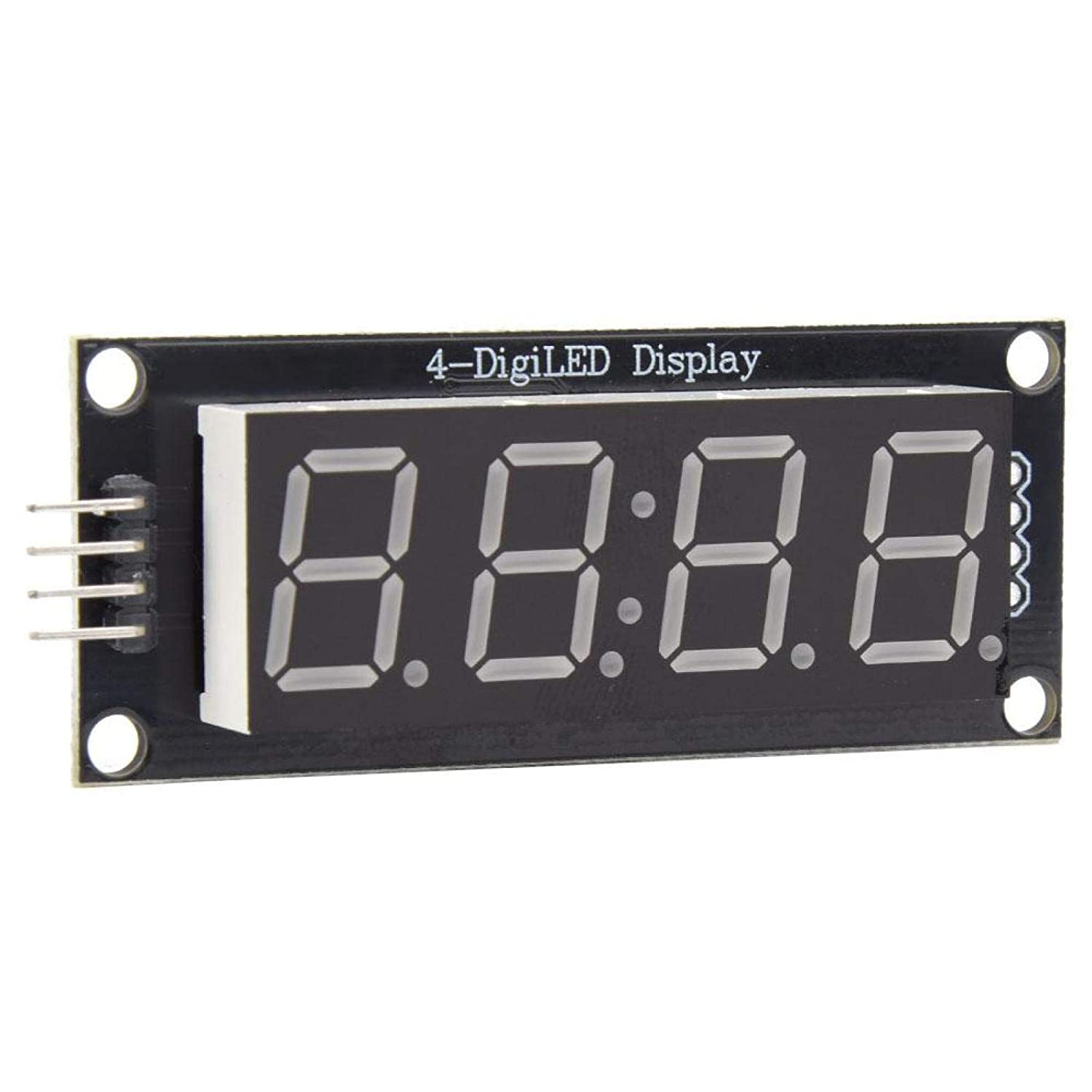 Max 67% OFF LED Display 4 Mounting Popular shop is the lowest price challenge Holes 2 Digital Displa 7-Segment for Pins
