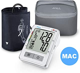 Blood Pressure Monitor Upper Arm with Carrying Case, APULZ Digital Automatic BP Machine Cuff 8.7