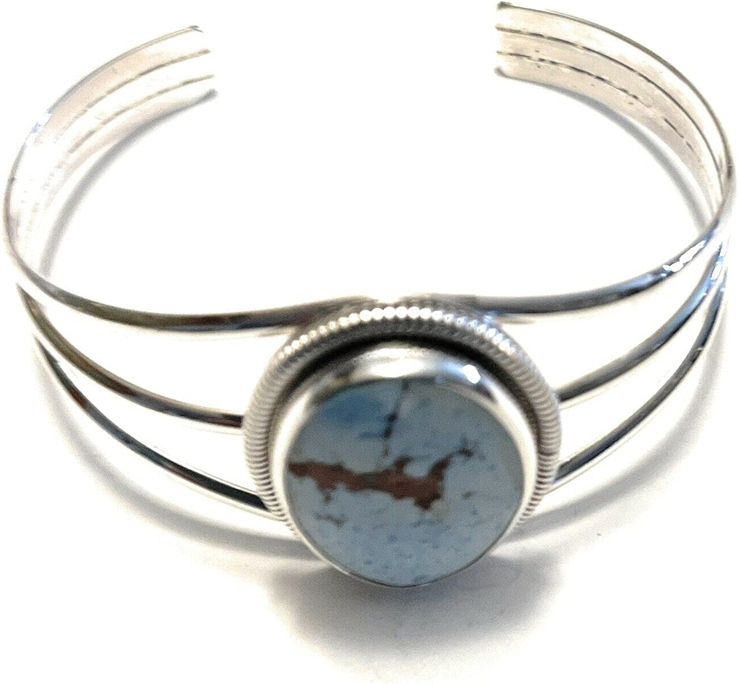 Nizhoni Traders LLC Navajo Golden Hill Turquoise Sterling Silver