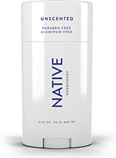 Native Deodorant - Natural Deodorant Made without Aluminum & Parabens - Unscented