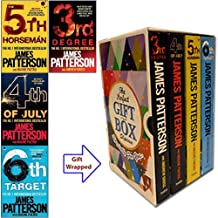 James Patterson Collection (3-6) Womens Murder Club Series 4 Books Bundles (3rd Degree,4th of July,The 5th Horseman,The 6t...