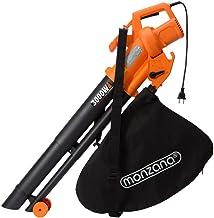 Monzana 3en1 soplador aspirador y trituradora de jardín má
