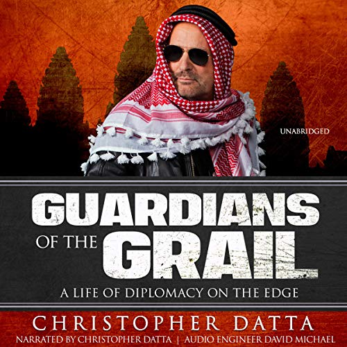 Guardians of the Grail audiobook cover art