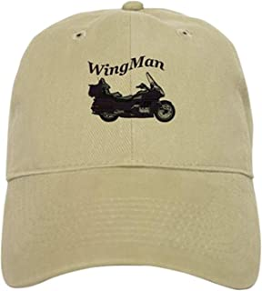 HuNa-Store Goldwing Shop #Wingman Cap - Baseball Cap with Adjustable Closure, Unique Printed Baseball Hat
