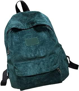 green corduroy backpack