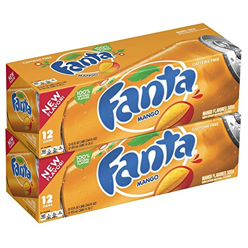 Fanta Mango 24 x 355 ml inkl. 6,00 Euro DPG-Pfand