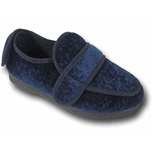 f3fd9bad6c5 Coolers Womens BW27A Velcro Straps Wide Fit Orthopaedic Slippers