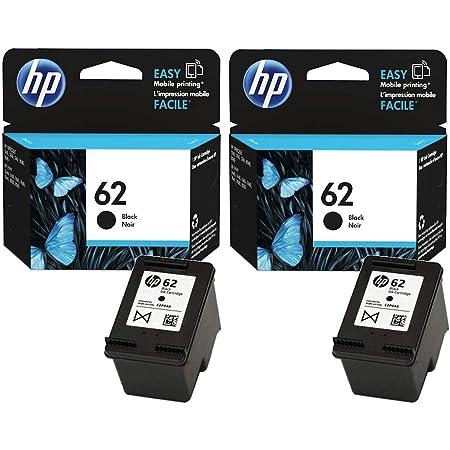 HP 62Noir cartouche d'encre d'origine Lot de 2(2x Noir)