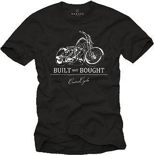 MAKAYA Built Not Bought - Camisetas Moteras Hombre