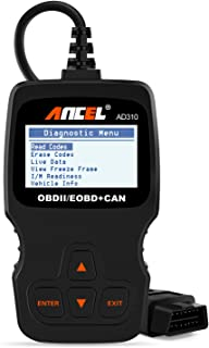 Best ANCEL AD310 Classic Enhanced Universal OBD II Scanner Car Engine Fault Code Reader CAN Diagnostic Scan Tool-Black Review