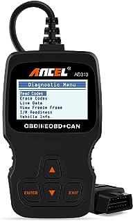 ANCEL AD310 Classic Enhanced Universal OBD II Scanner Car Engine Fault Code Reader CAN Diagnostic...