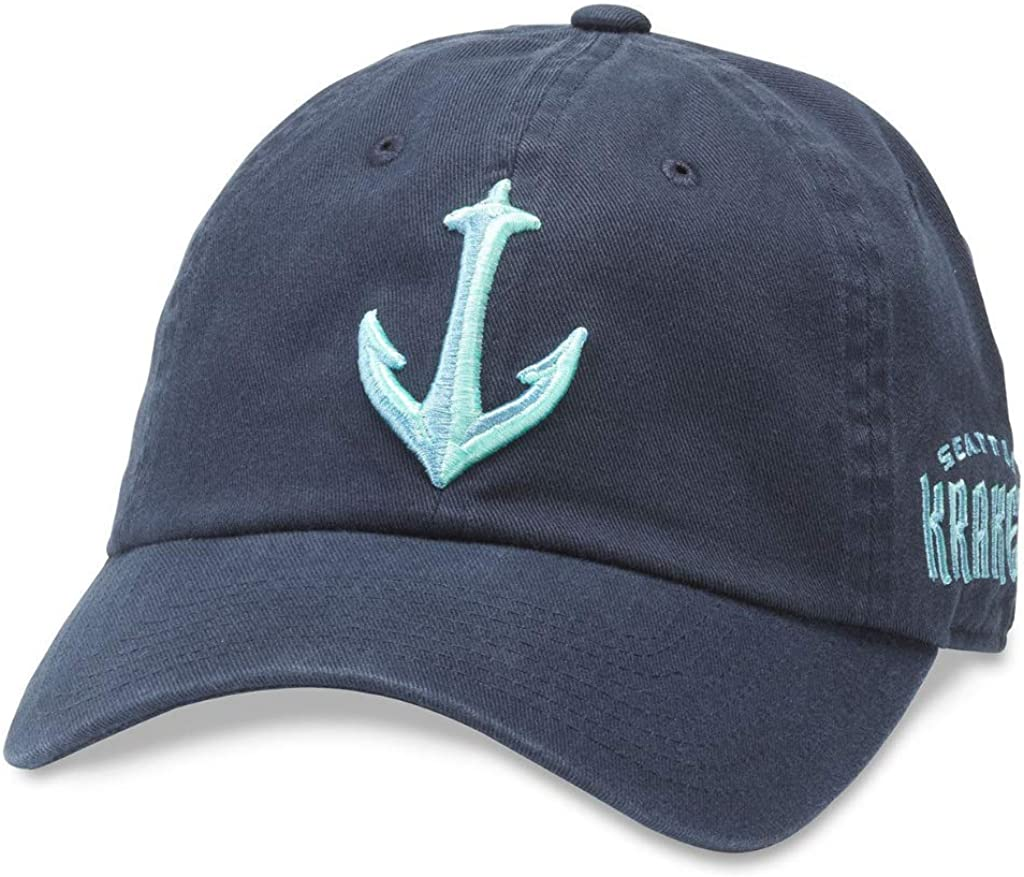 Ranking TOP15 AMERICAN NEEDLE Seattle Kraken NHL Casual Relaxed Hat Our shop OFFers the best service Baseball