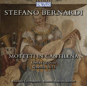 Bernardi: Motetti in cantilena