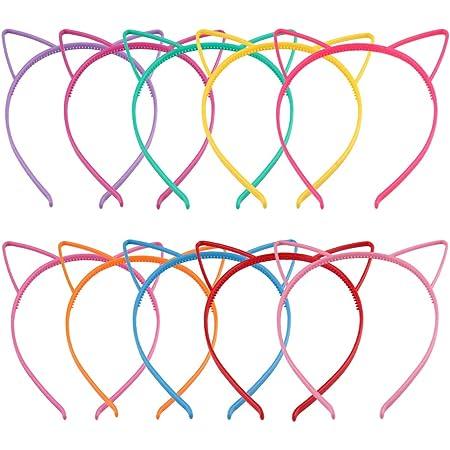 Am /_ Süß LED Cat-Ears Haar Reifen Haarband Stirnband Leuchtend Mütze Party Ki