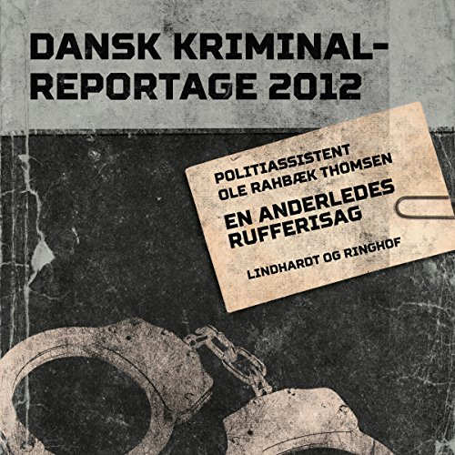 En anderledes rufferisag audiobook cover art