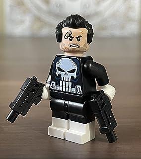 Leg o Marvel Punisher Minifigura exclusiva para Set 76178