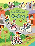 First Sticker Book Cycling (First Sticker Books) - Jessica Greenwell