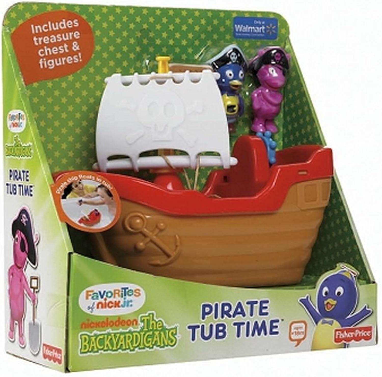 Mercancía de alta calidad y servicio conveniente y honesto. The Backyardigans Exclusive Jugarset Pirate Tub Time by Fisher-Price Fisher-Price Fisher-Price  suministramos lo mejor