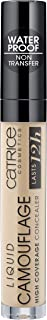 Catrice | Liquid Camouflage High Coverage Concealer | Ultra Long Lasting Concealer | Oil & Paraben Free | Cruelty Free (015 | Honey)
