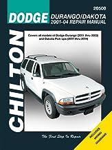 Chilton`s Dodge Durango/Dakota 2001-04 Repair Manual