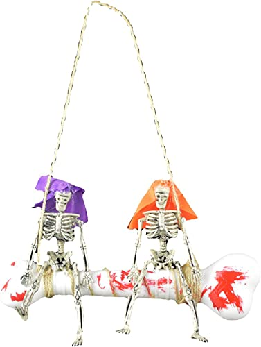 wholesale Halloween Skeleton Bride Groom outlet sale HangingOrnament Door Signs Scary Ornament for HalloweenParty Home sale Garden Decoration online sale
