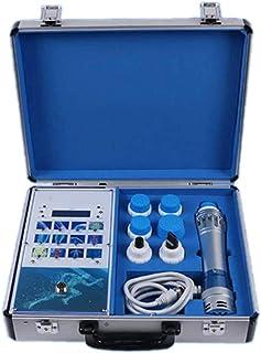TTSTR Extracorpóreo Onda De Choque Terapia para Dolor, Eficaz Onda De Choque Fisioterapia Instrumento con 6 Masaje Cabezas Relajarse Dispositivo,1