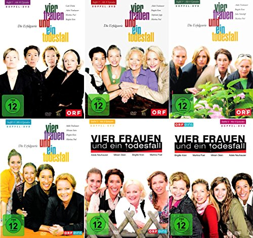Vier Frauen und ein Todesfall - Die komplette 1. - 6. Staffel (12-DVD)