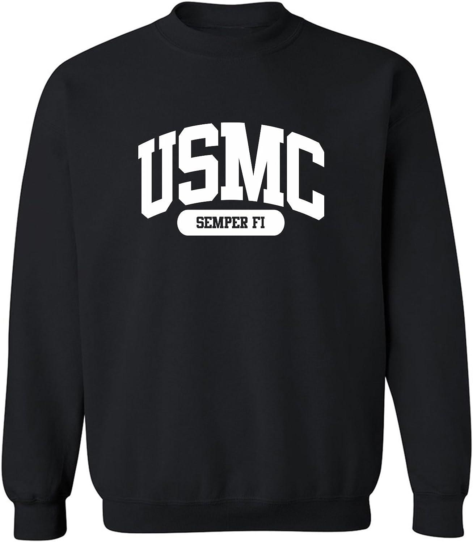 USMC Semper Fi Crewneck Sweatshirt