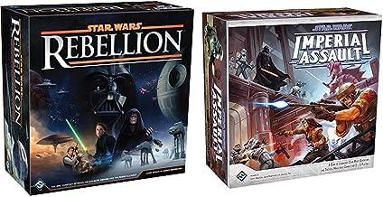 Fantasy Flight Games Star Wars: Rebellion Board Game & Star Wars: Imperial Assault