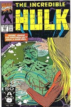 "Comic The Incredible Hulk #382 (""Moving On"") Book"
