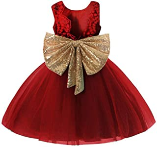 0-12 Years Baby Flower Girl Dress Wedding