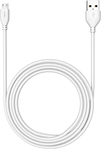 Amazon Kindle Replacement USB Cable, 6 ft Charger Cord (Accessories for Kindle Fire, Touch, Keyboard, DX)
