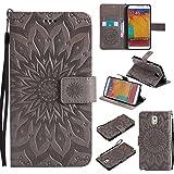 BoxTii Coque Galaxy Note 3, Etui en Cuir de Première Qualité [avec Gratuit Protection D'écran en...