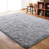 ISEAU Fluffy Rug Carpets Soft Shaggy Area Rug Indoor...