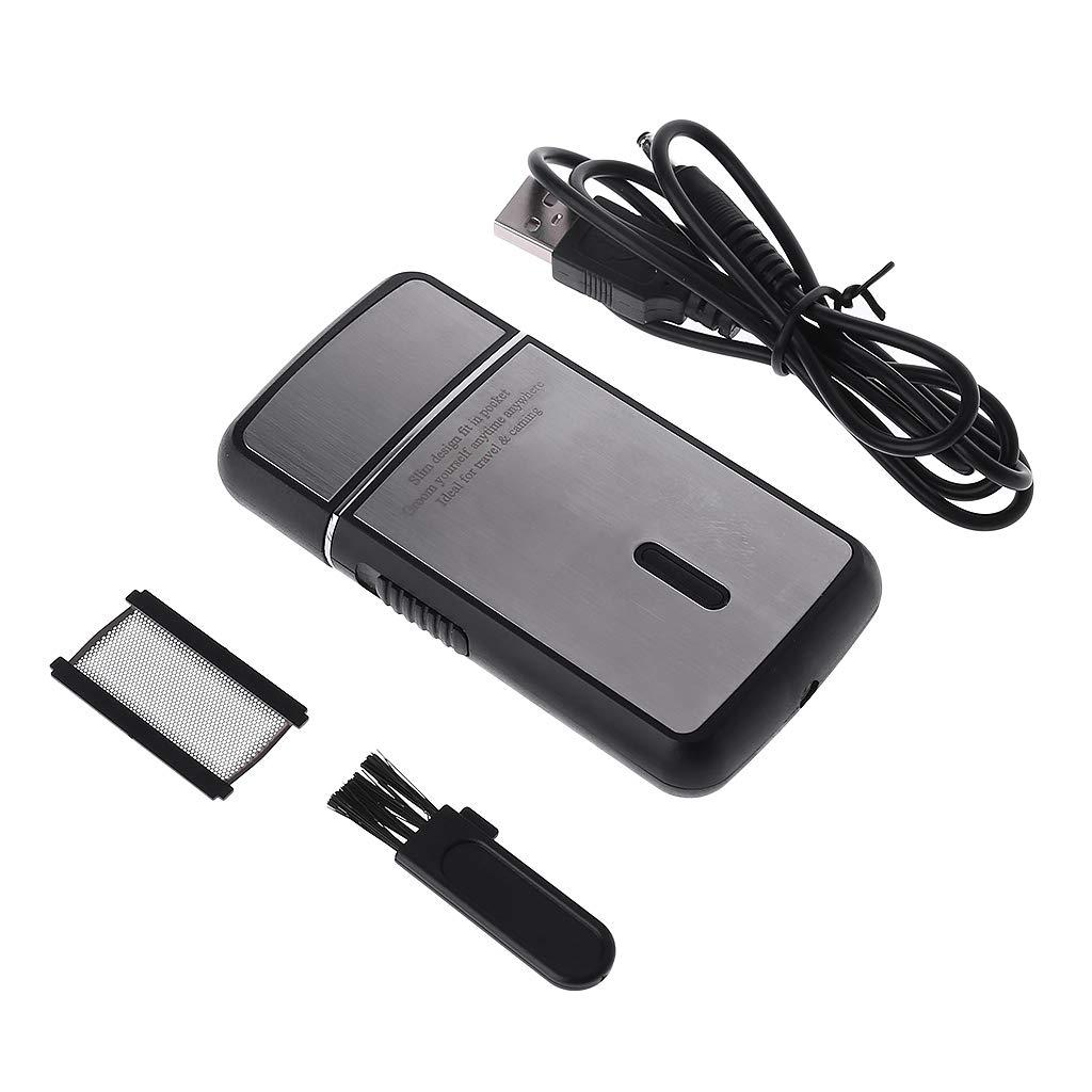 MIKI-Z - Maquinilla de Afeitar eléctrica portátil para Hombres ...