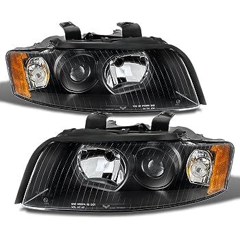 Halogen Headlight Headlamp Passenger Side Right RH for Audi A4 S4