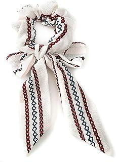 WZHZJ Vintage Print Hair Bague pour Femmes Bohemia Style Bowknot Ruban Ruban Ruban Elegant Fablic Head Band Girls Accessoi...