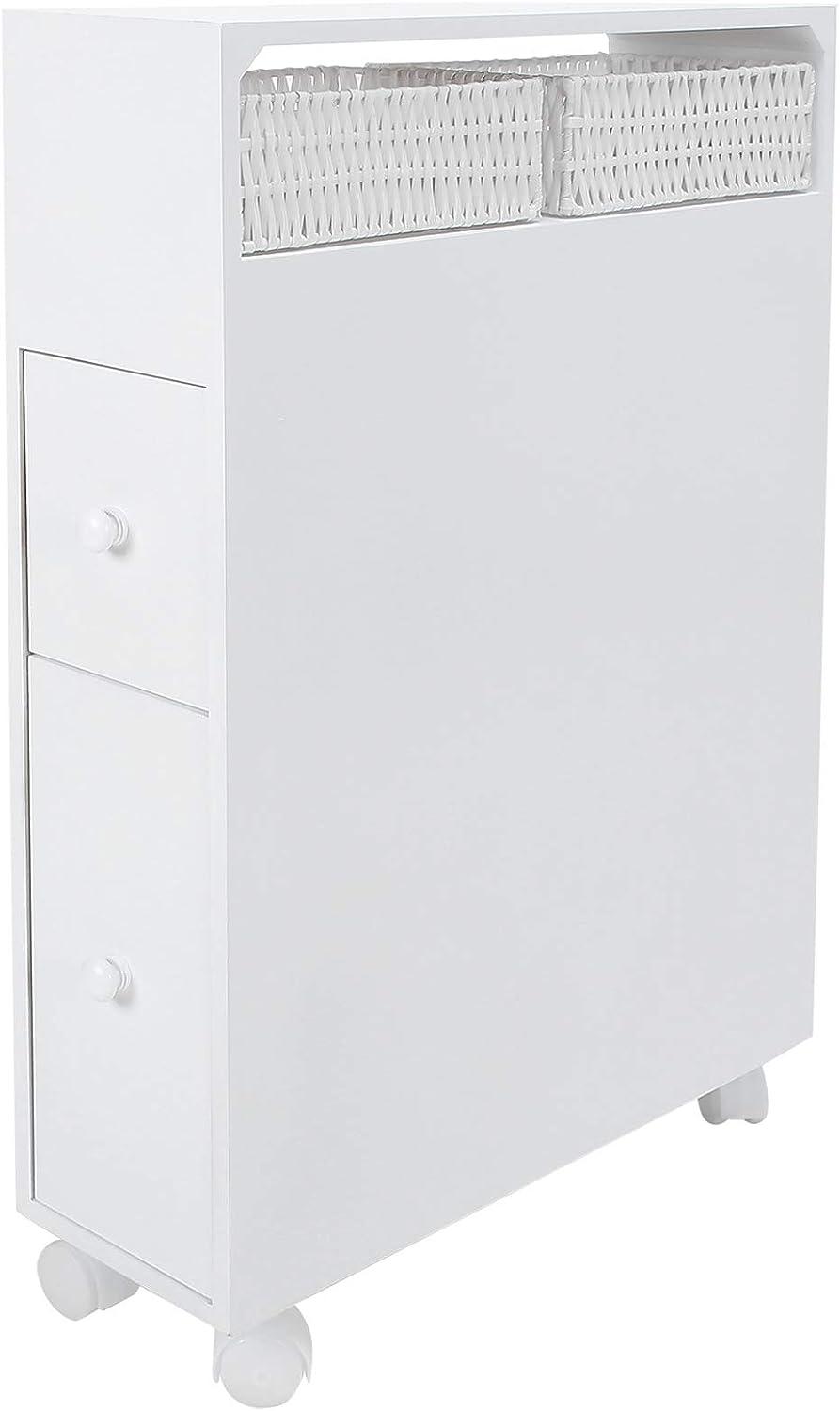 Kadimendium Four Casters Charlotte Mall Toilet Locker Cabinet Bathroom Pa half Nylon