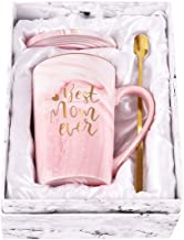 "Taza de café con texto en inglés ""Best Mom Ever"" para mamá, regalo de cerámica, regalo para mamá y mujer, regalo de Navida..."
